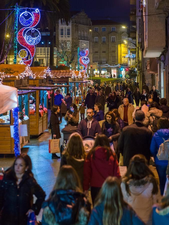 Éxito de participación no Mercado de Nadal