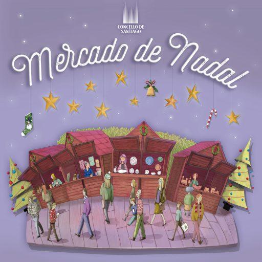Aberto ata o 2 de novembro o prazo de solicitude de participación nos postos de venda do Mercado de Nadal